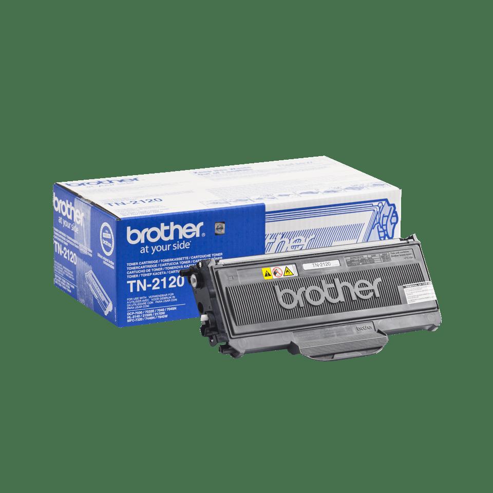 Originalni Brother TN-2120 veliki toner – crni