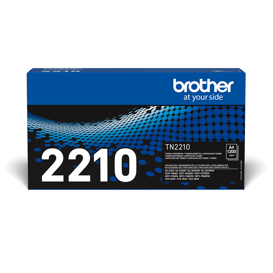 Originalni Brother TN-2210 toner – crni