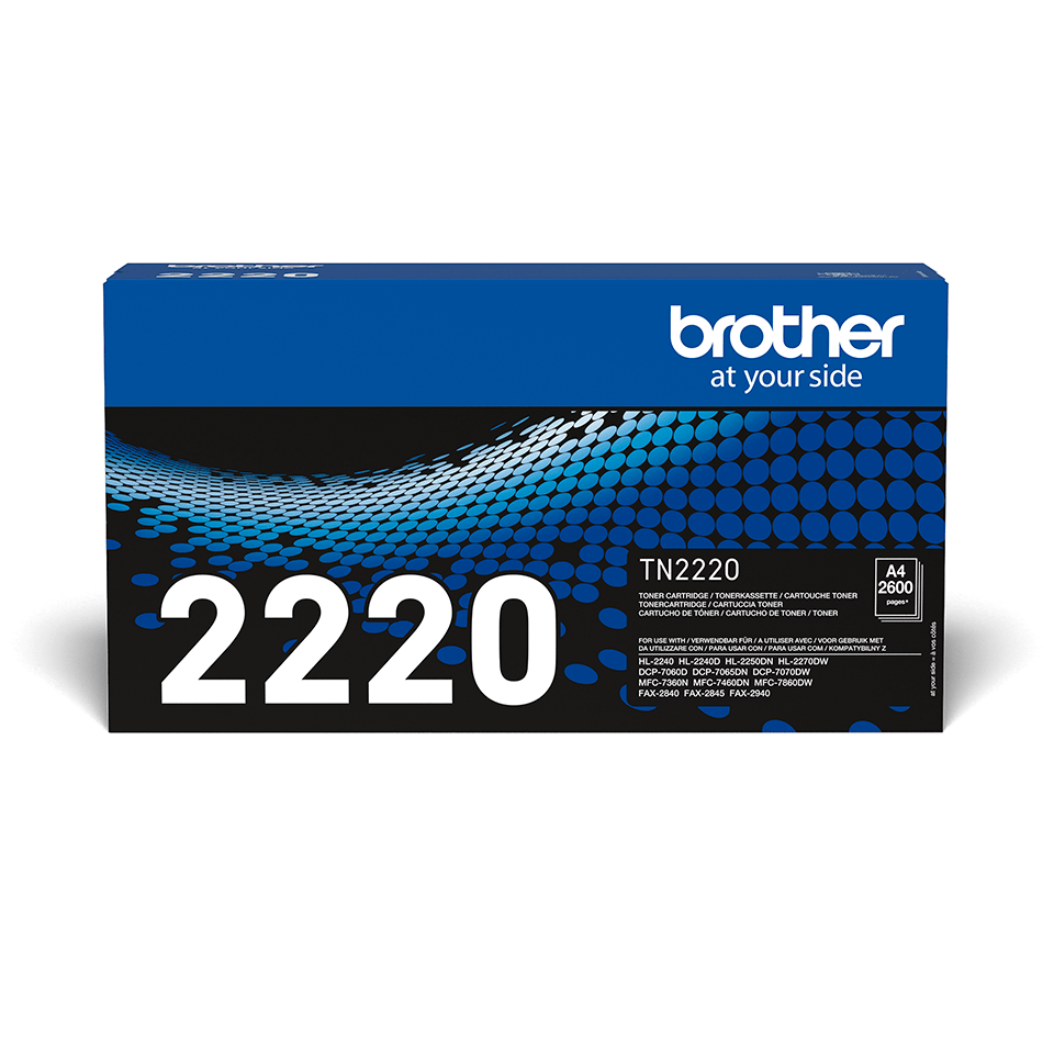Originalni Brother TN-2220 veliki toner – crni