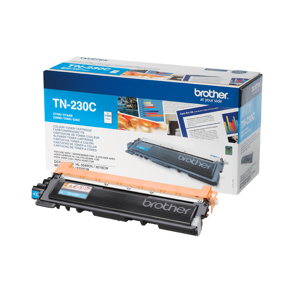 Originalan Brother TN-230C toner – cijan