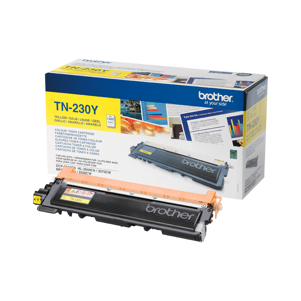 Originalan Brother TN-230Y toner – žuti