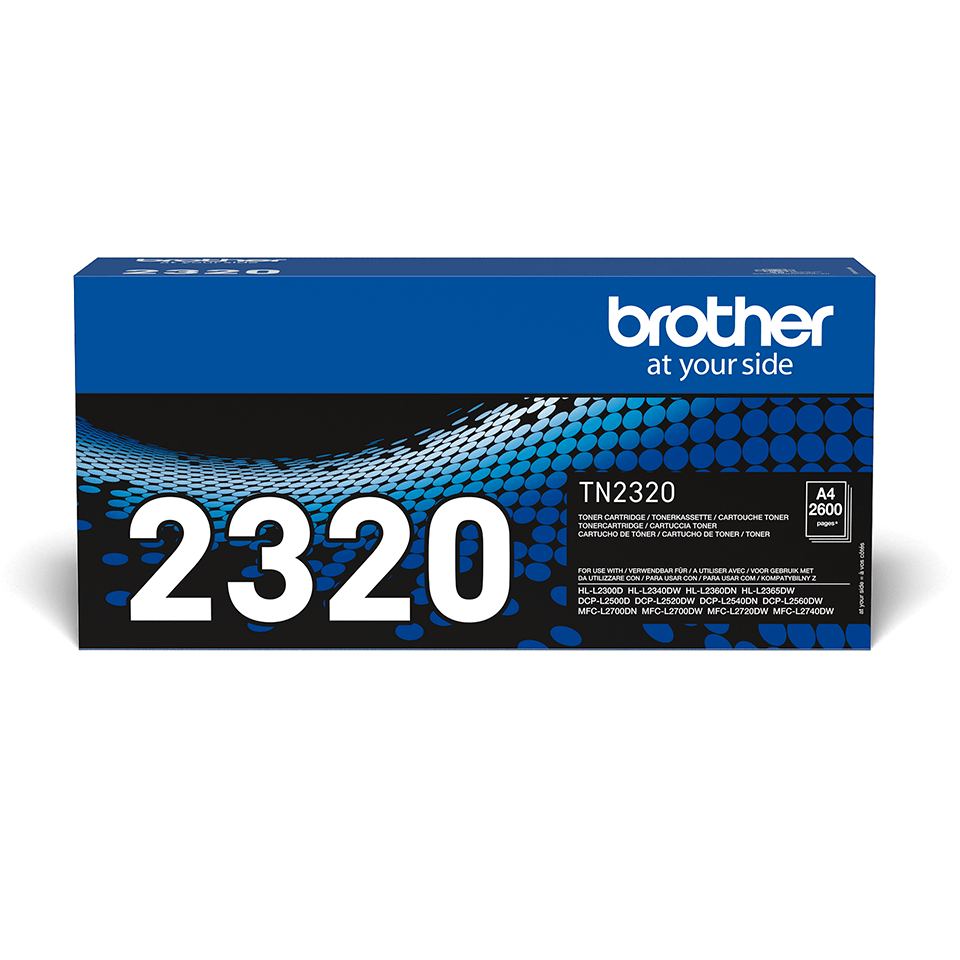 Originalan Brother TN-2320 veliki toner – crni