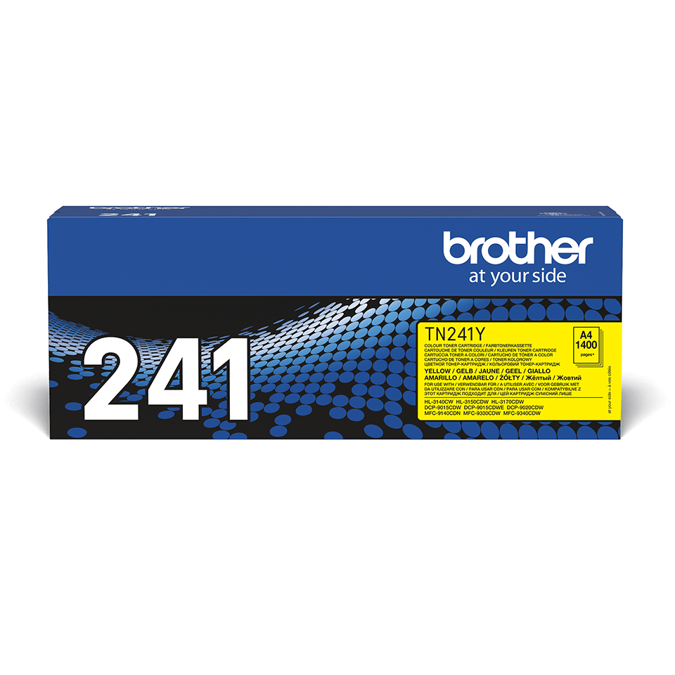 Originalan Brother TN-241Y toner – žuti