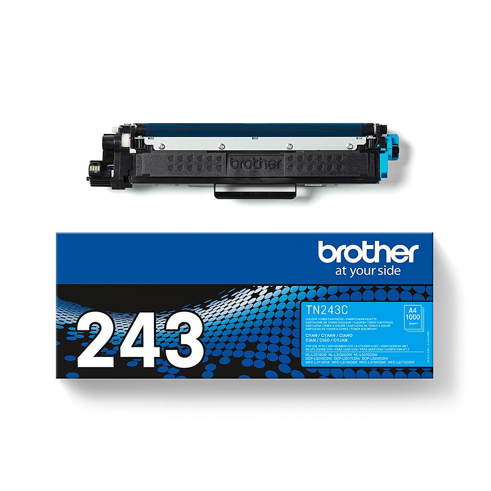 Originalni toner Brother TN-243C – cijan 3
