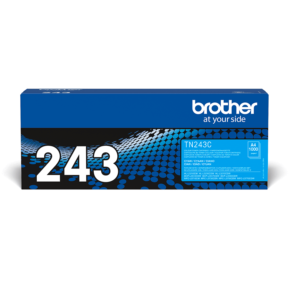 Originalni toner Brother TN-243C – cijan