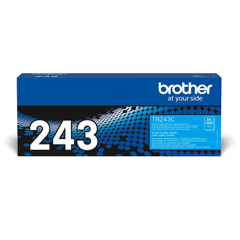Originalni toner Brother TN-243C – cijan