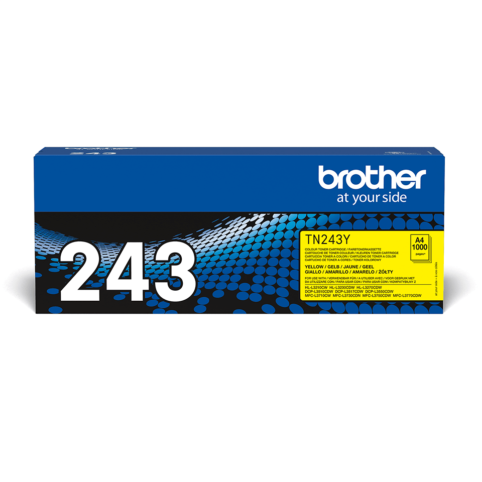 Originalni toner Brother TN-243Y – žuti