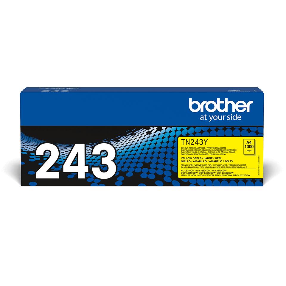 Originalni toner Brother TN-243Y – žuti