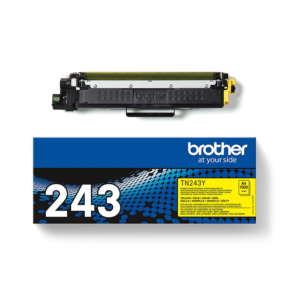 Originalni toner Brother TN-243Y – žuti 3