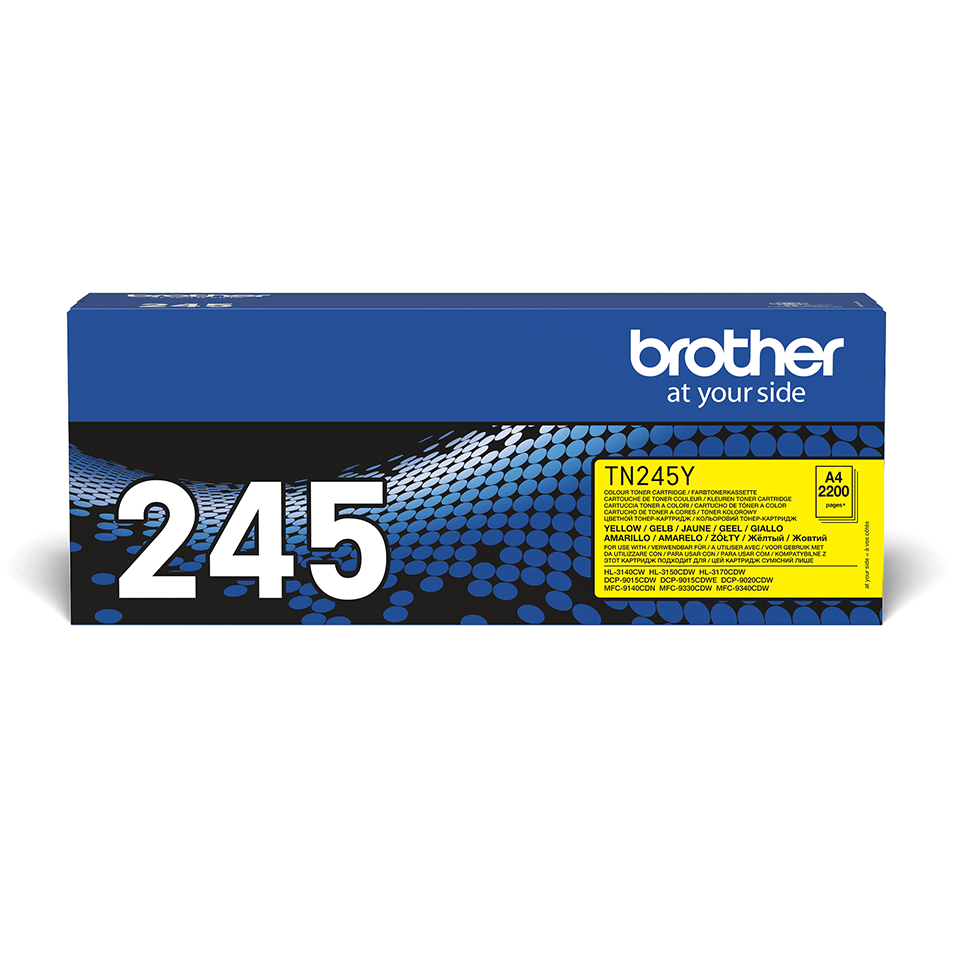 Originalan Brother TN-245Y toner – žuti