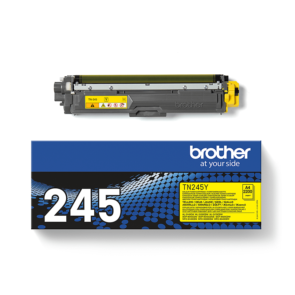 Originalan Brother TN-245Y toner – žuti 3