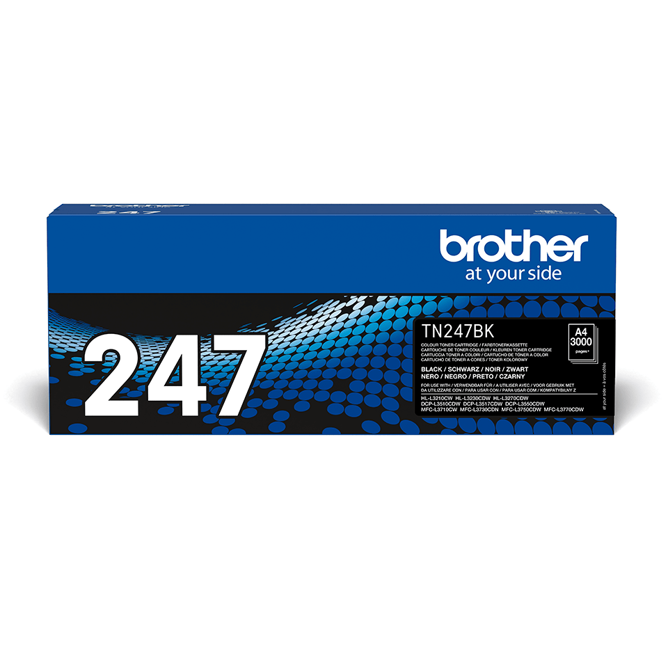 Originalni toner Brother TN-247BK – crni
