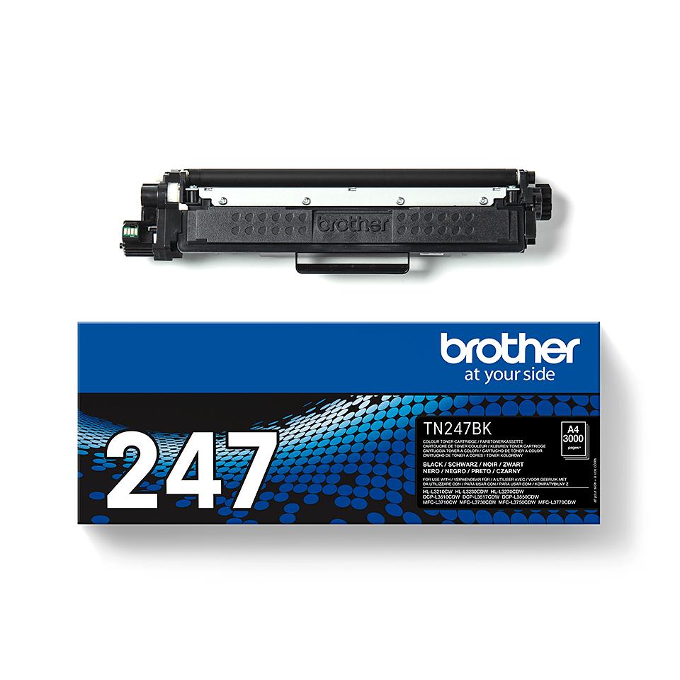 Originalni toner Brother TN-247BK – crni 2