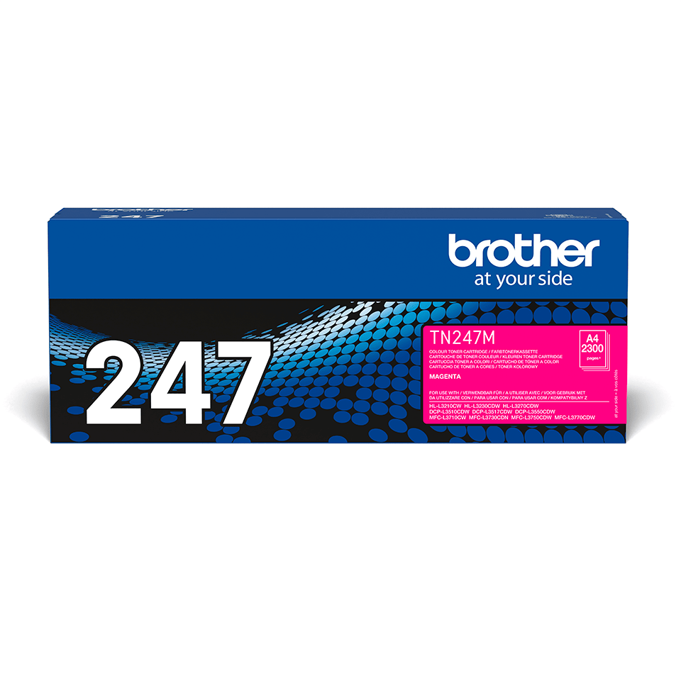 Originalni toner Brother TN-247M – magenta