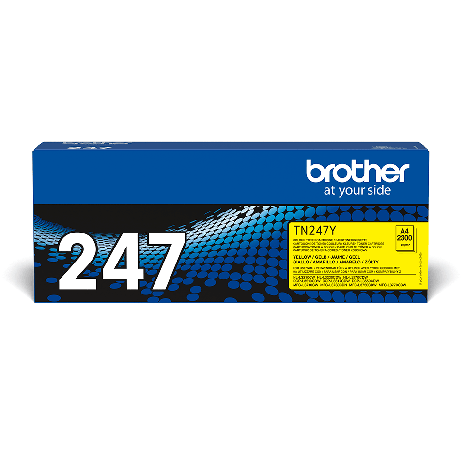 Originalni toner Brother TN-247Y – žuti