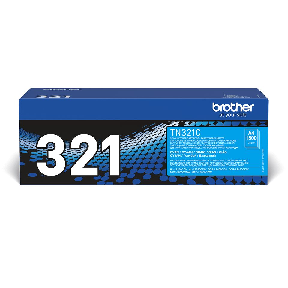 Originalan Brother TN-321C toner – cijan