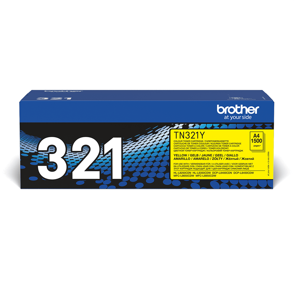 Originalan Brother TN-321Y toner – žuti