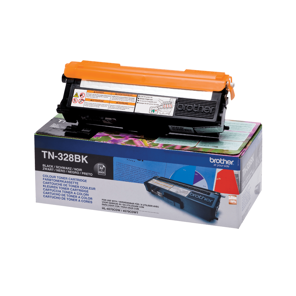 Originalan Brother TN-328BK toner – crni