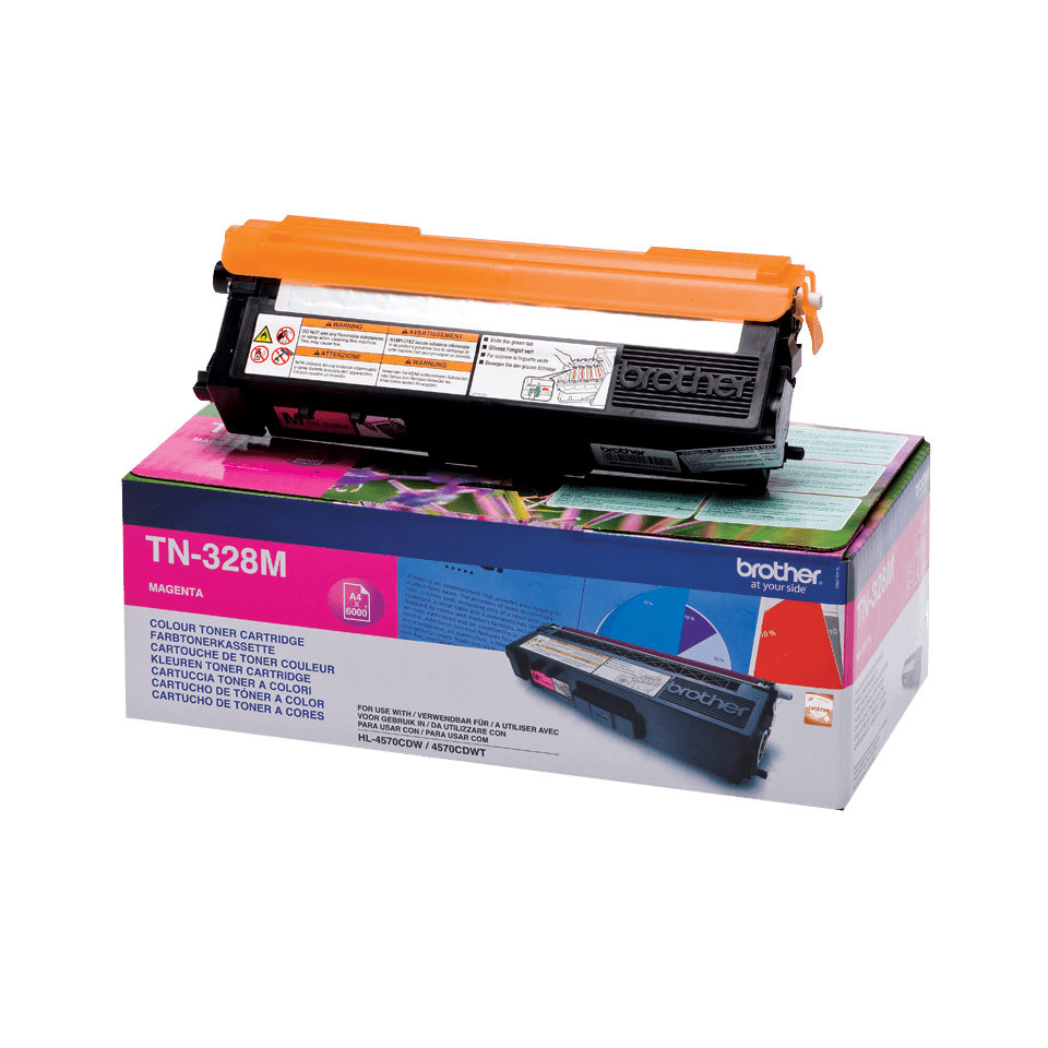 Originalan Brother TN-328M toner – magenta
