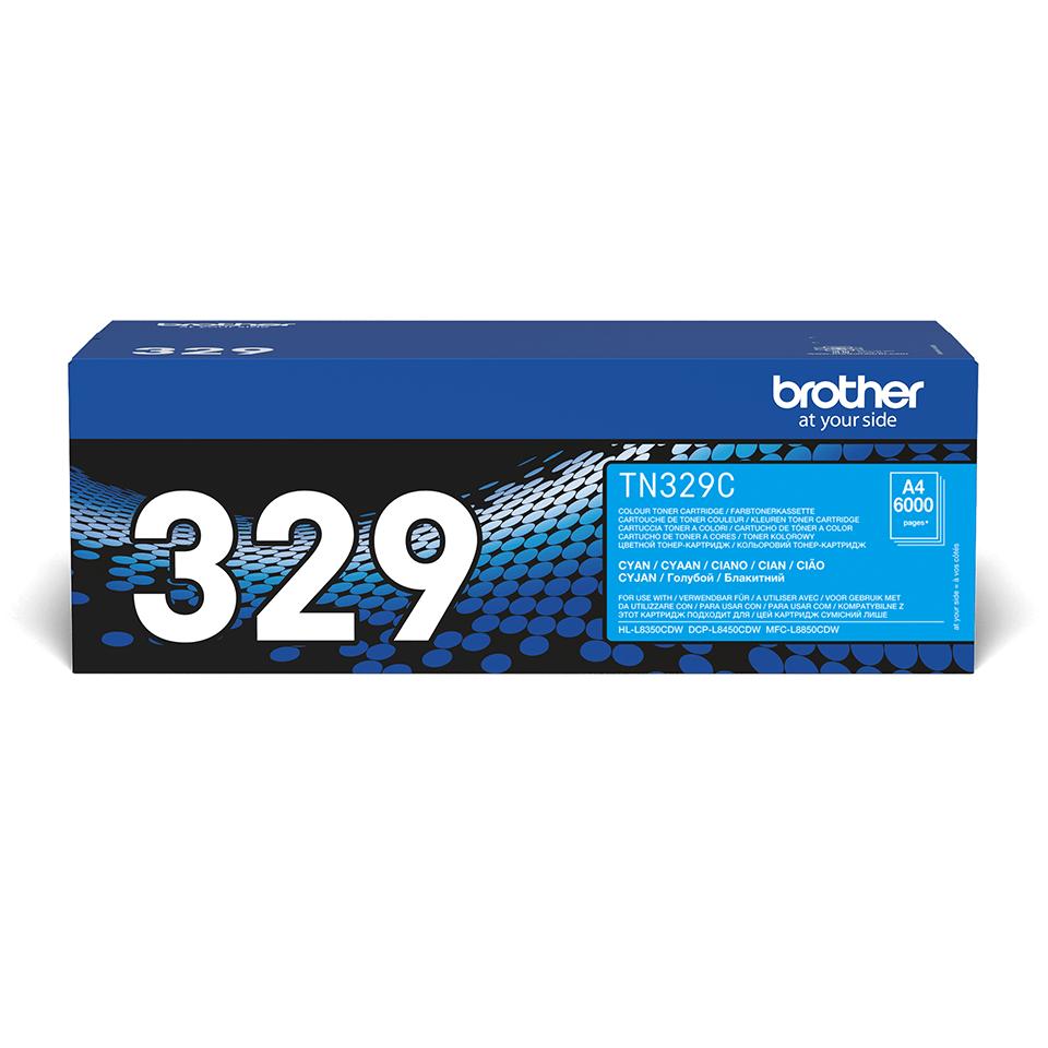 Originalan Brother TN-329C toner – cijan