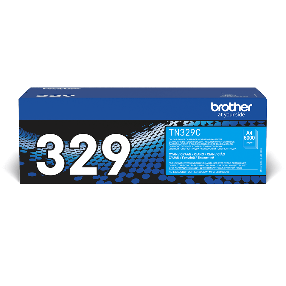 Originalan Brother TN-329C toner – cijan