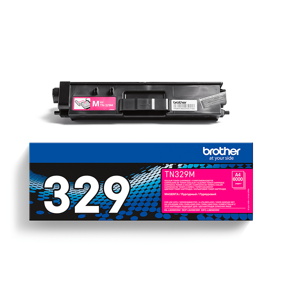 Originalan Brother TN-329M toner – magenta 2