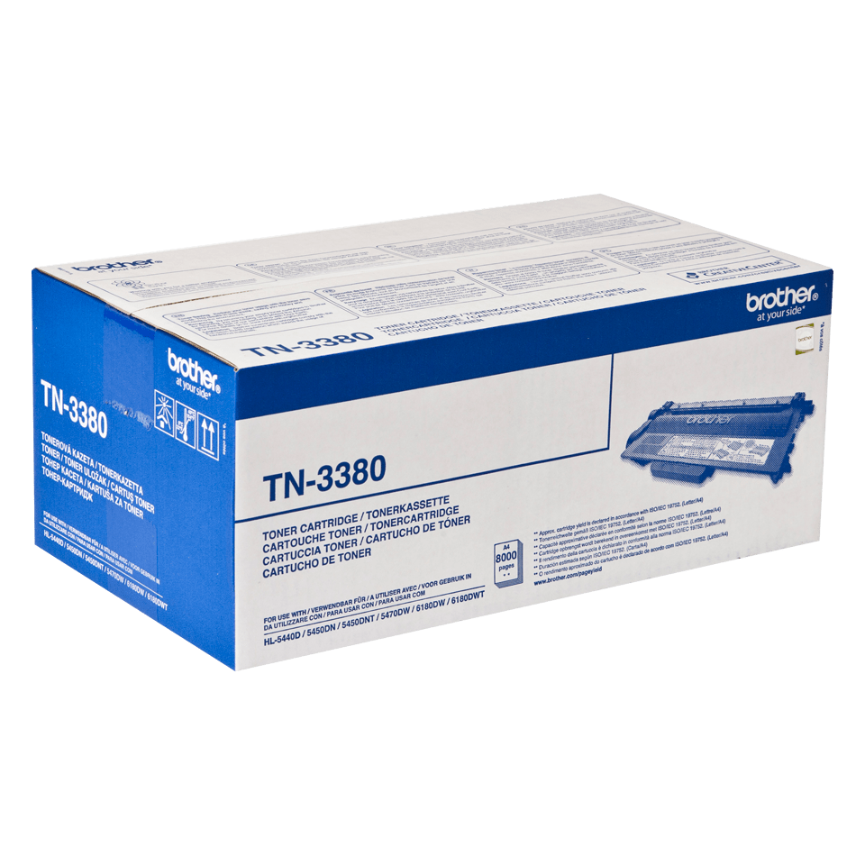 Originalan Brother TN-3380 veliki toner – crni