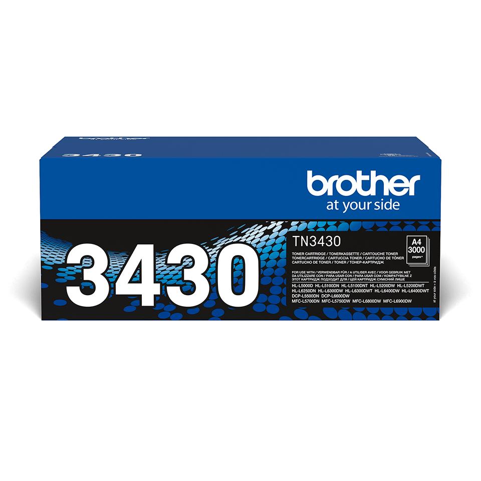 Originalan Brother TN-3430 toner – crni