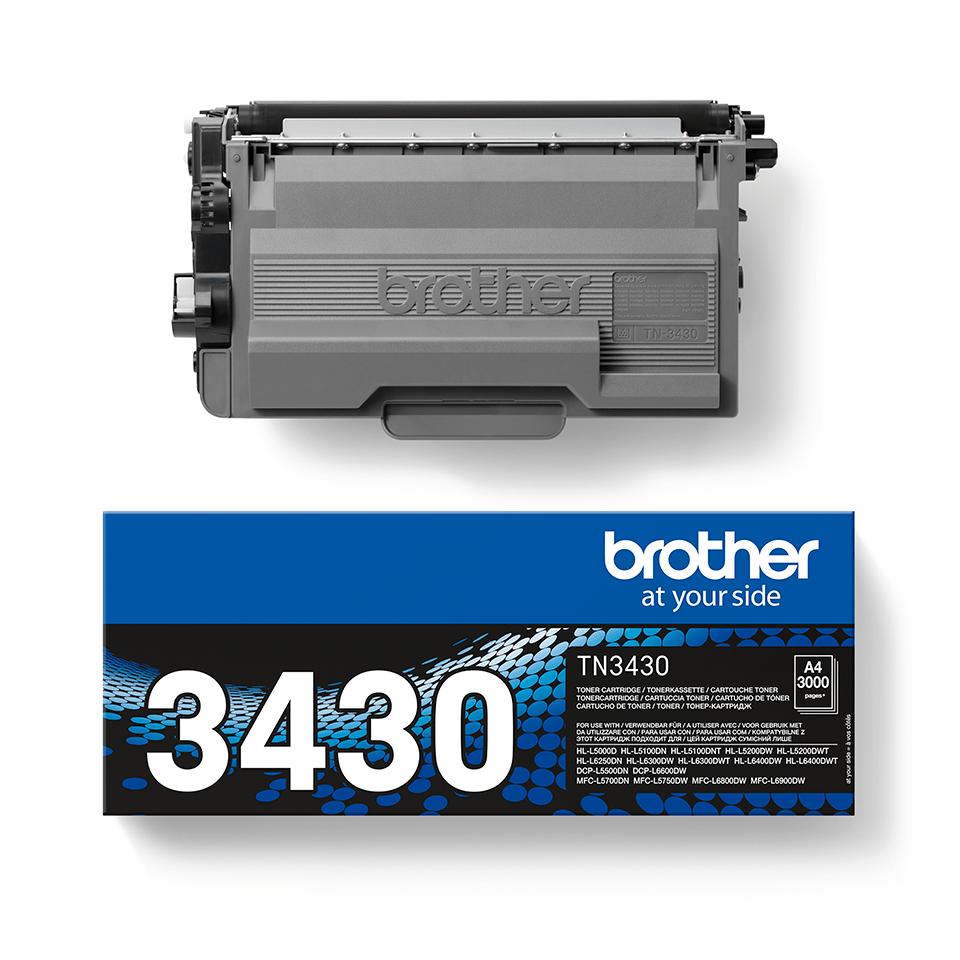 Originalan Brother TN-3430 toner – crni 2