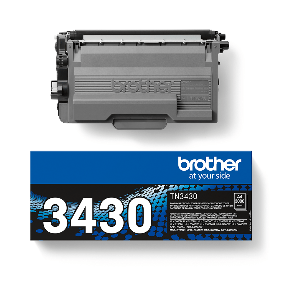 Originalan Brother TN-3430 toner – crni 2