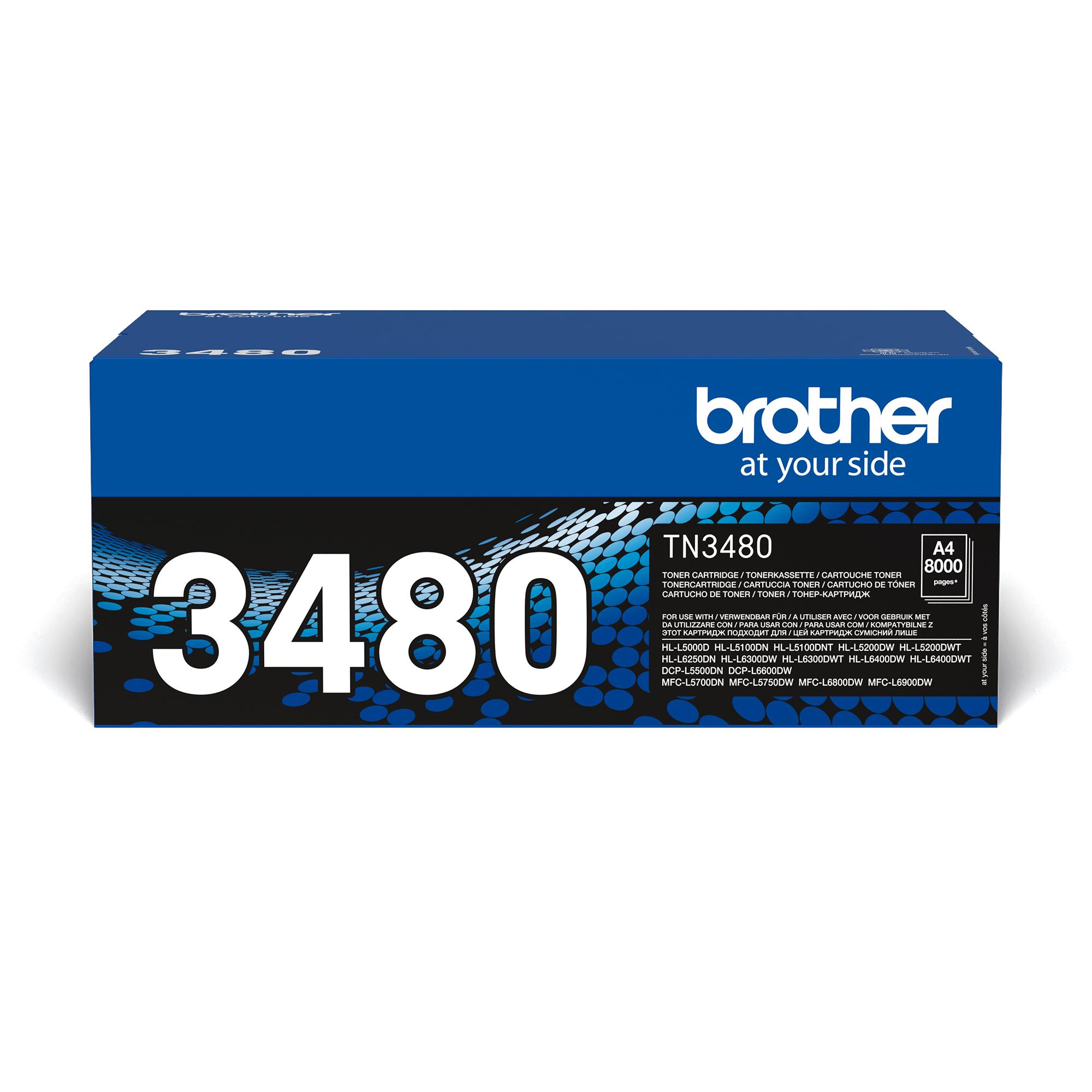 Originalan Brother TN-3480 veliki toner – crni