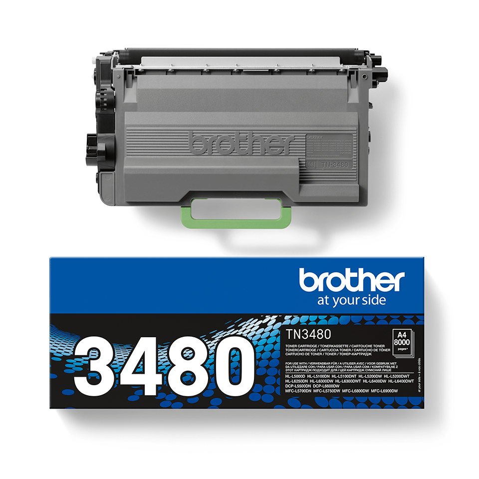 Originalan Brother TN-3480 veliki toner – crni 2