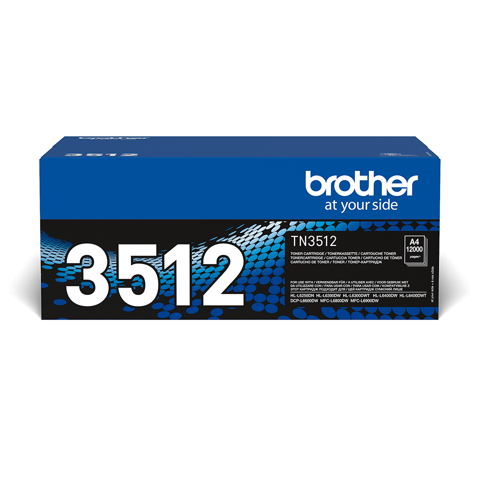 Originalan Brother  TN-3512 veliki toner – crni