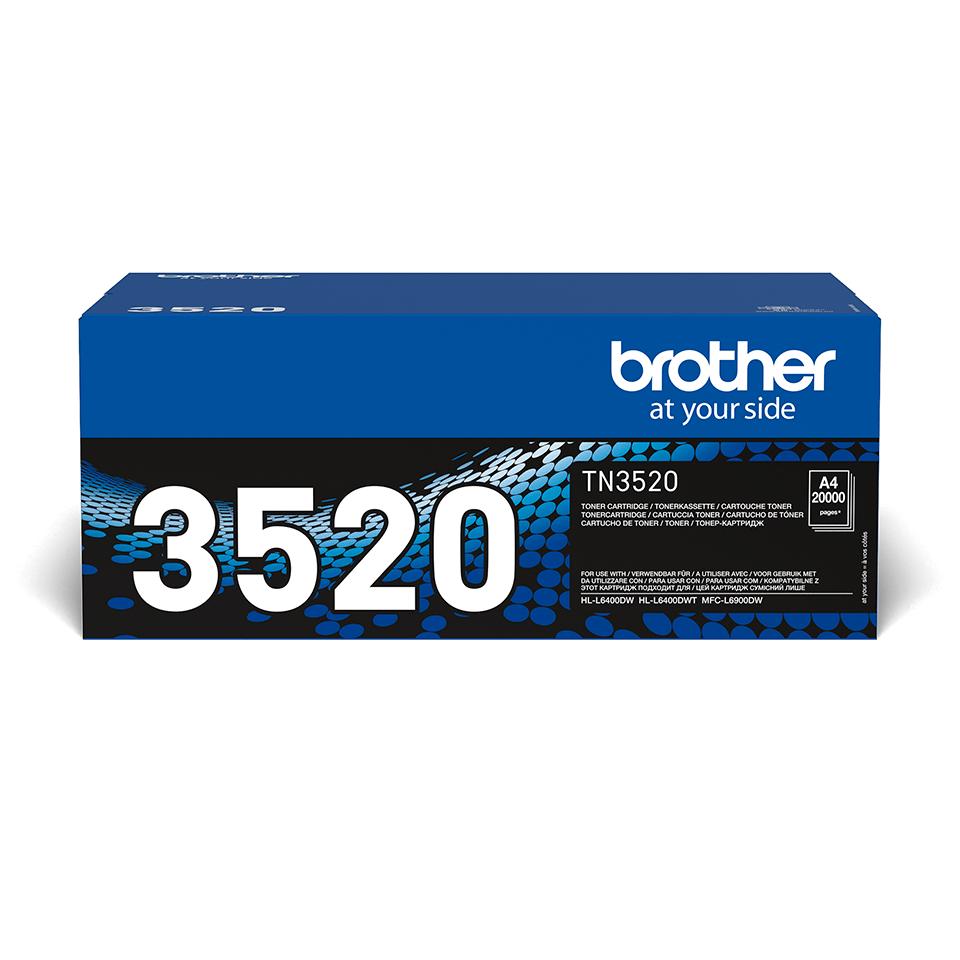 Originalan Brother TN-3520 ultra veliki toner – crni