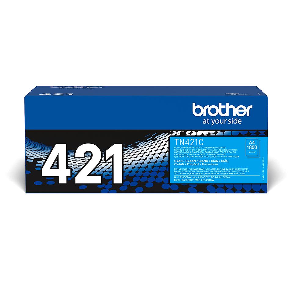 Originalan Brother TN-421C toner – cijan 2
