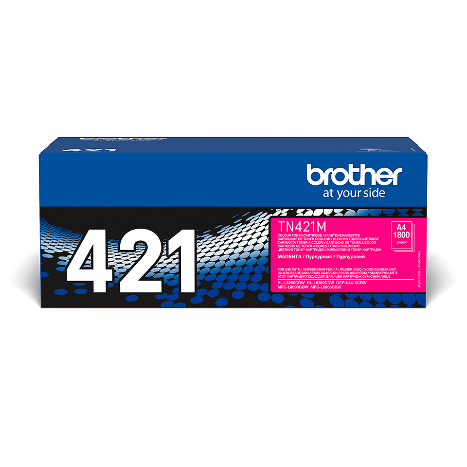 Originalan Brother TN-421M toner – magenta 2
