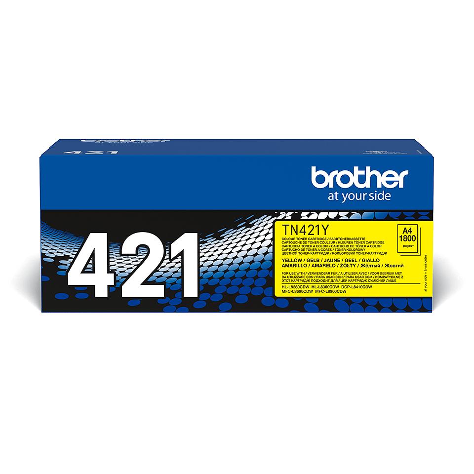 Originalan Brother TN-421Y toner – žuti 2