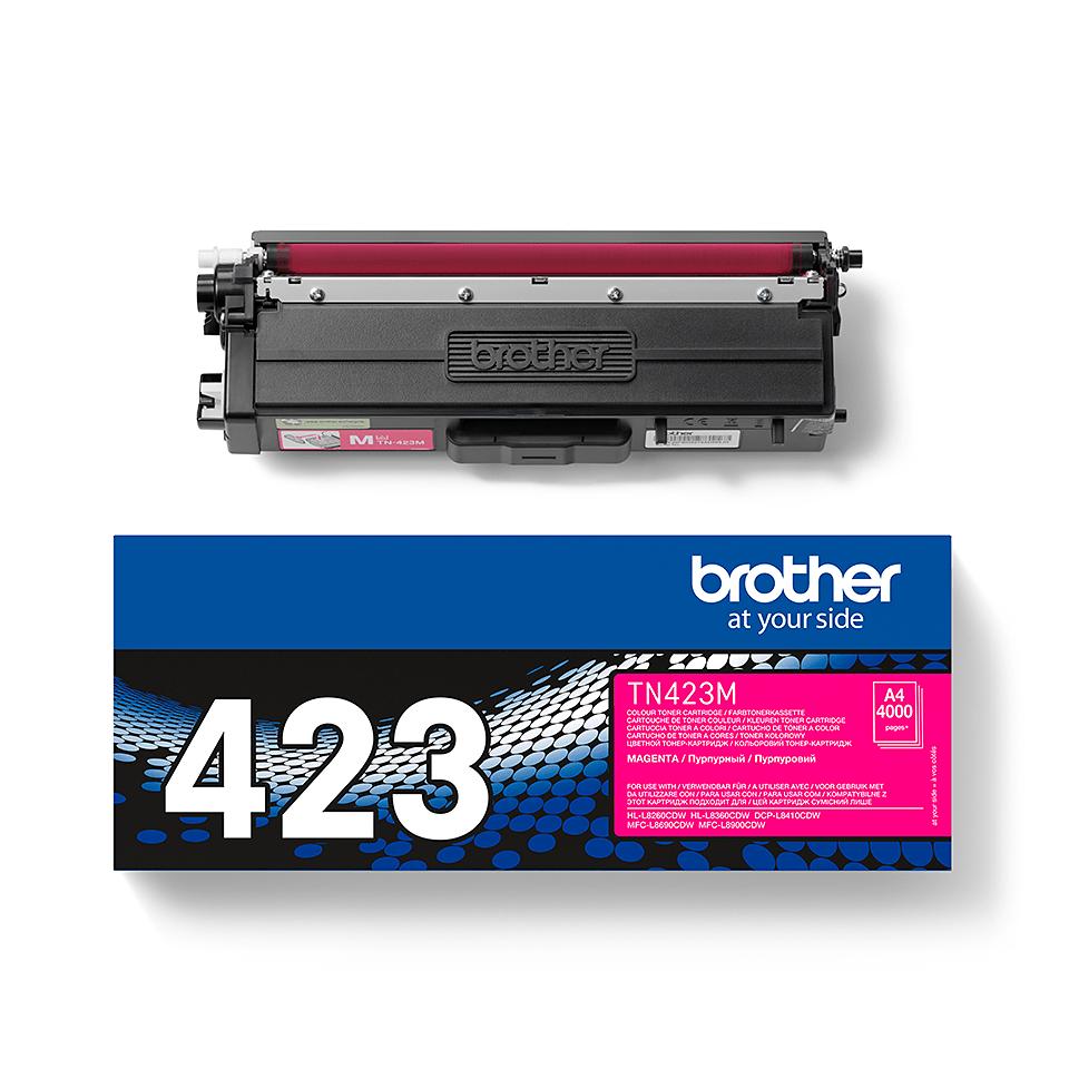 Originalan Brother TN-423M toner – magenta 2