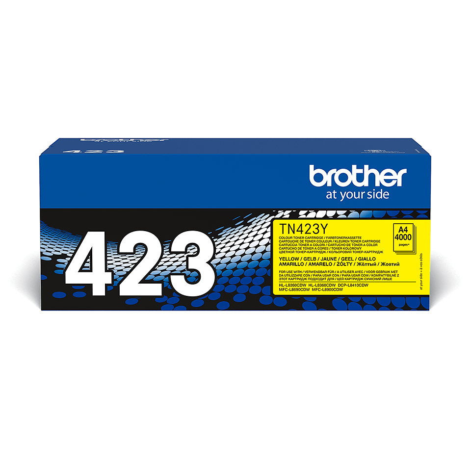 Originalan Brother TN-423Y toner – žuti