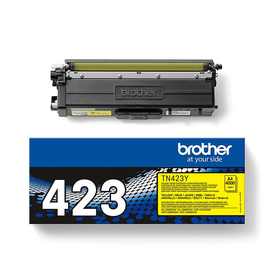 Originalan Brother TN-423Y toner – žuti 2