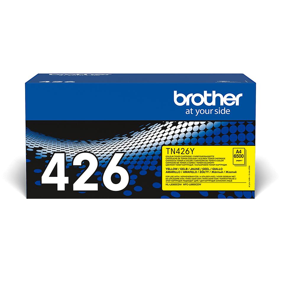 Originalan Brother TN-426Y toner – žuti