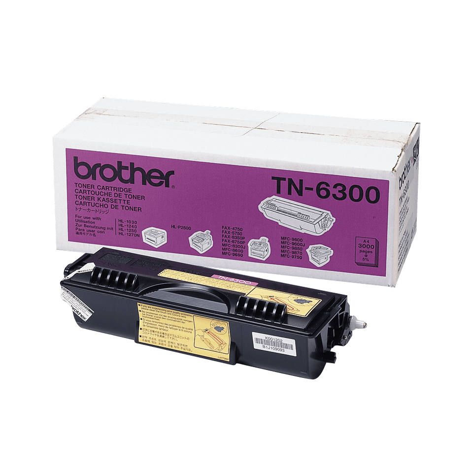 Originalan Brother TN-6300 veliki toner – crni