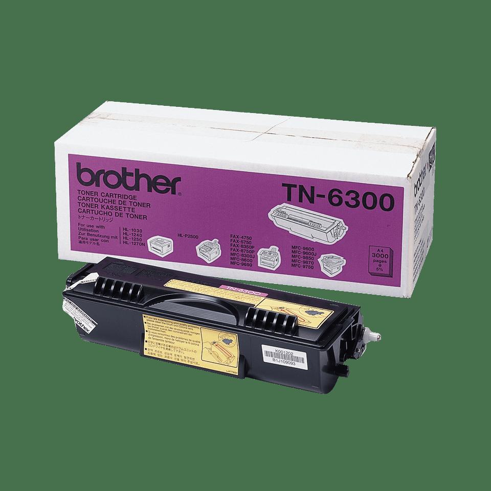 Originalan Brother TN-6300 veliki toner – crni