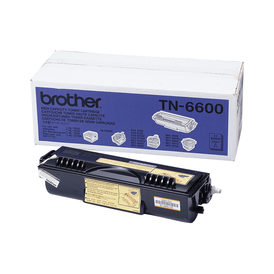Originalan Brother TN-6600 veliki toner – crni