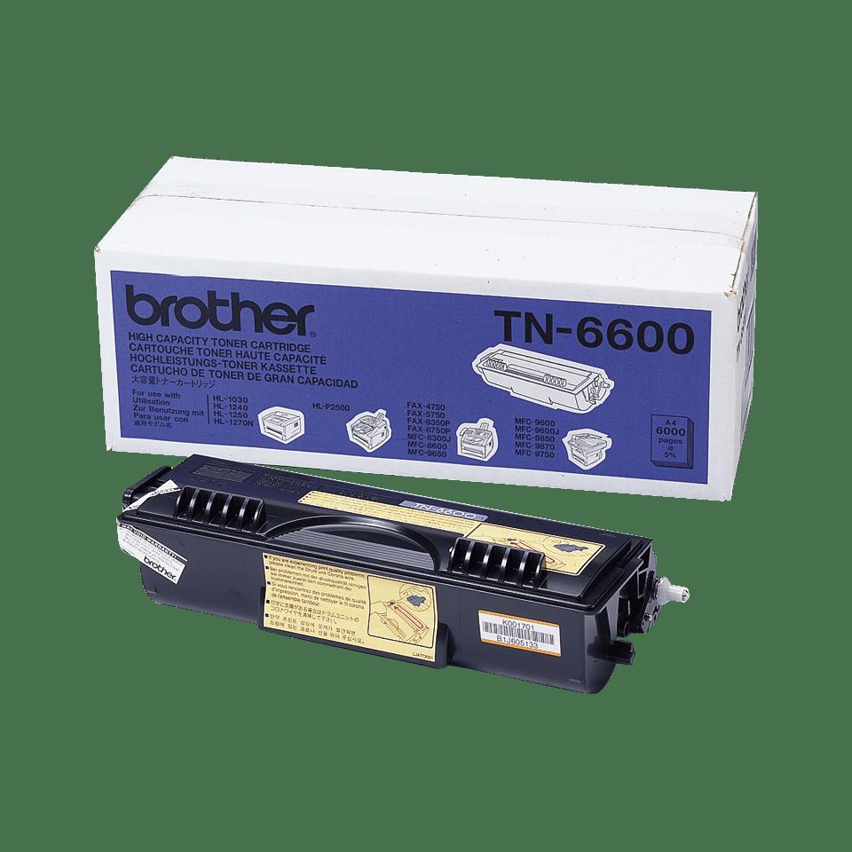 Originalan Brother TN-6600 veliki toner – crni