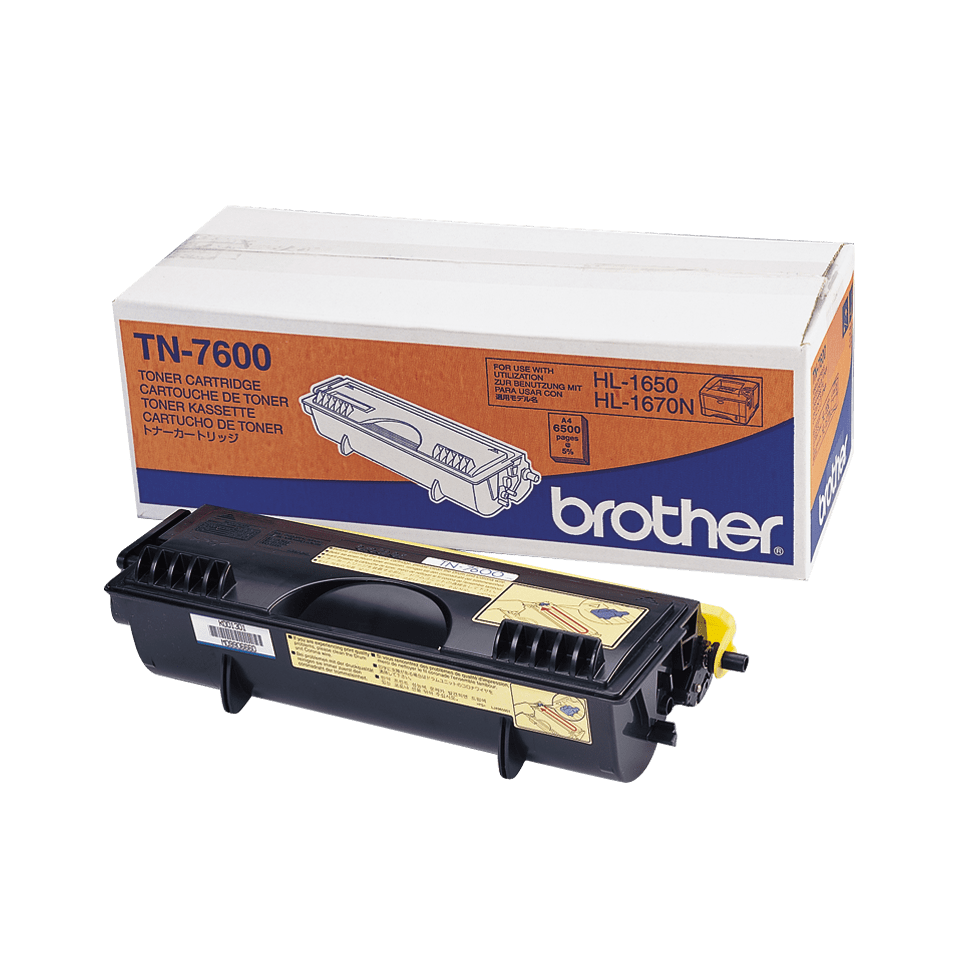 Originalan Brother TN-7600 veliki toner – crni