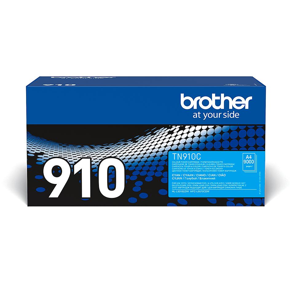 Originalan Brother TN-910C toner – cijan