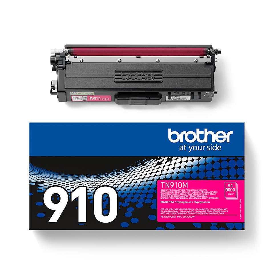 Originalan Brother TN-910M toner – magenta 2