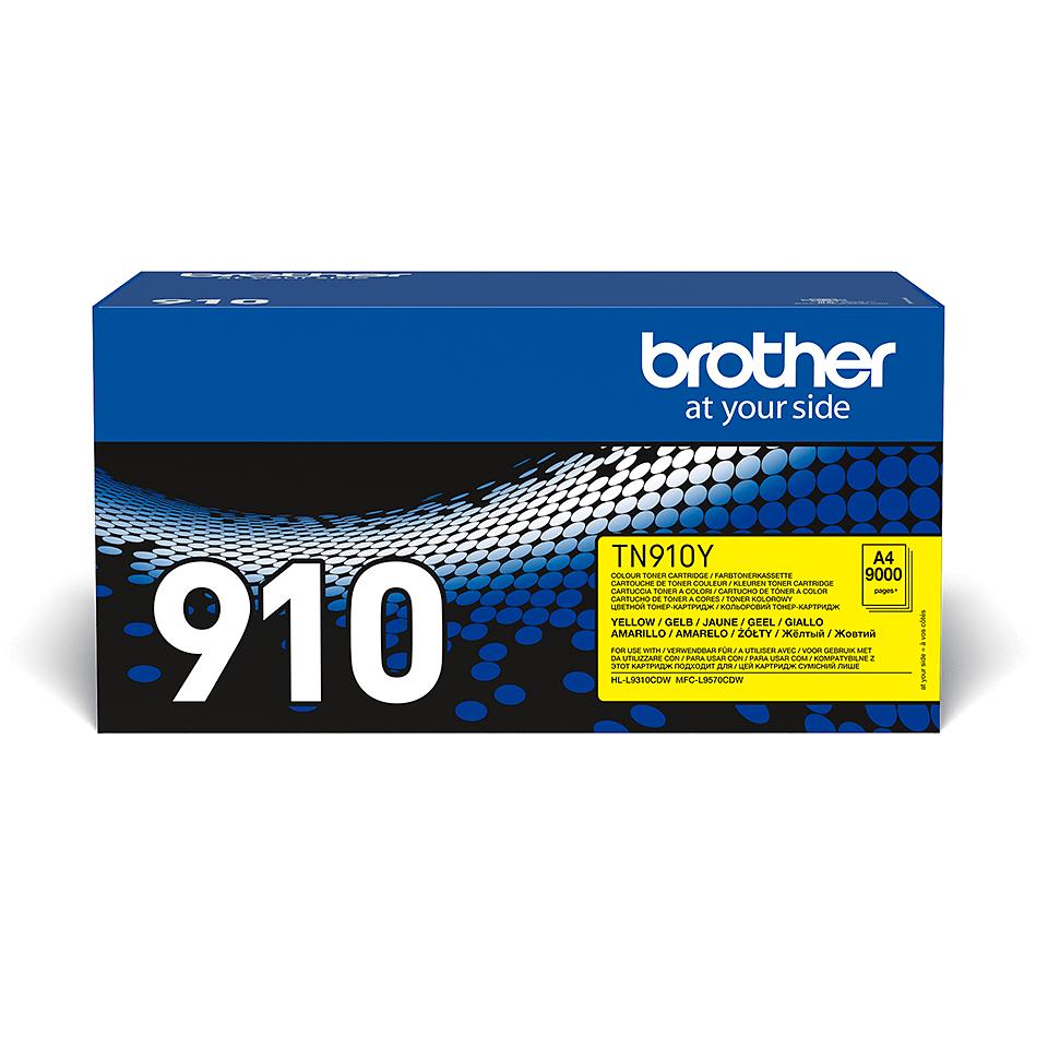 Originalan Brother TN-910Y toner – žuti