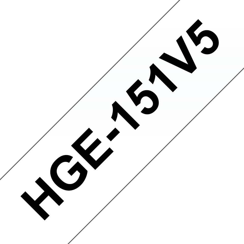 Originalna Brother HGe-151V5 kaseta s trakom za označavanje